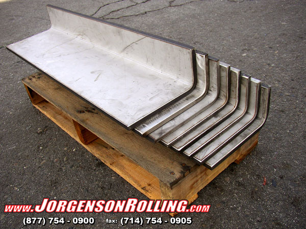 Jorgenson Rolling We Specialize In Press Brake Bending Forming And Rolling Of Plate And Sheet Metal